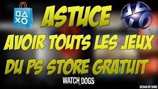 GLITCH I PS3 - AVOIR TOUTS LES JEUX DU PS STORE GRATUIT + PREUVE (MAI 2014) NO JAILBREAK