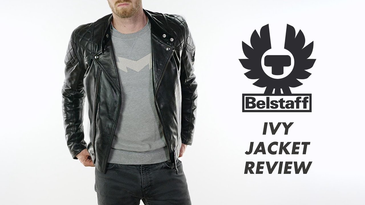 d10e5c251f Belstaff Ivy Leather Motorcycle Jacket Review - YouTube