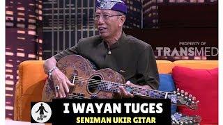 I WAYAN TUGES, SENIMAN UKIR GITAR | HITAM PUTIH  (05/01/18) 3-4