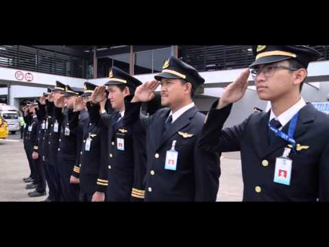 Garuda Indonesia - Retirement Flight Capt Purwanto