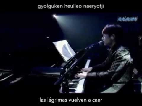 Super Junior KRY Coagulation  sub español + romanización + Ryeowook Piano Special Winter Concert