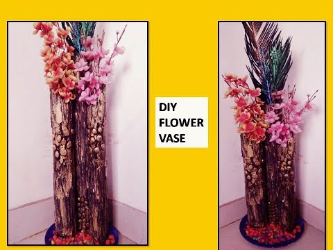 how to make flower vase out pvc pipes | home decor ideas