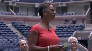 Arthur Ashe Stadium Roof Unveiled