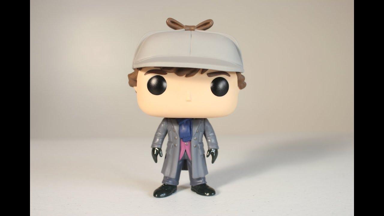 Sherlock With Deerstalker Hat Funko Pop Review Youtube