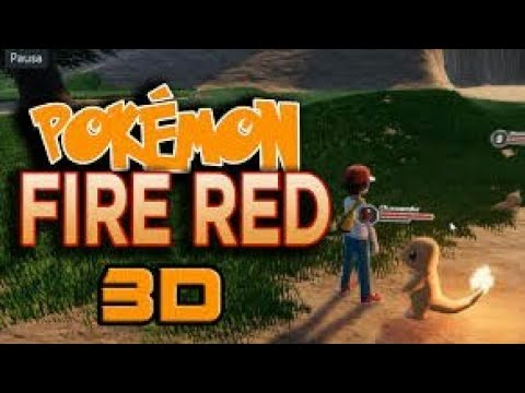 POKEMON FIRERED 3D REMAKE ANDROID/IOS DOWNLOAD