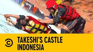 Every Man for Themselves On the Senile Titanic | Takeshi's Castle Indonesia