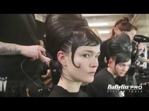 BaByliss PRO Backstage at Jack Irving AW18 with Richard Phillipart