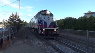Evening Trains at Allendale 9/22/17
