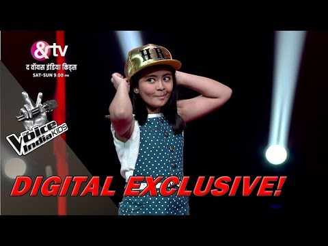 Shekinah Mukhiya Imitates Coach Himesh | Moment | The Voice India Kids - Season 2