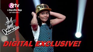 Shekinah Mukhiya Imitates Coach Himesh | Moment | The Voice India Kids - Season 2