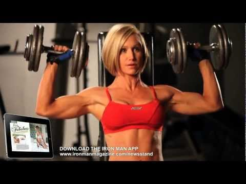 Jamie Eason Day in the Life - Hot Iron Man Photo Shoot