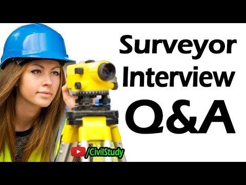 Surveyor Interview Questions - Survey Interview - Surveyor Work - Surveyor Job In Urdu/Hindi