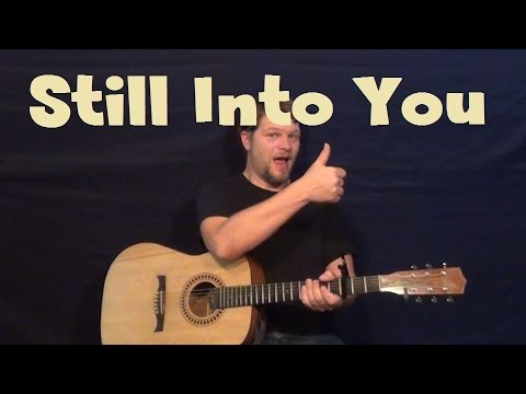 Still Into You (Paramore) Guitar Lesson How to Play Tutorial with ...