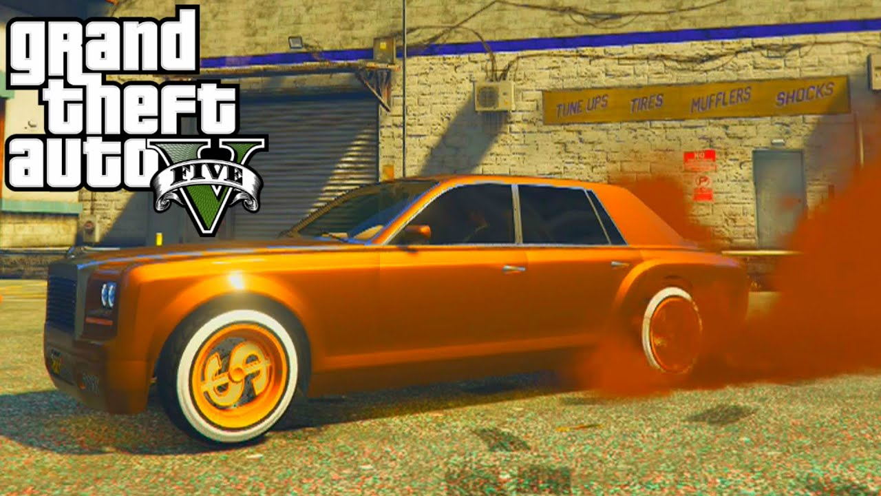 GTA 5 - Enus Super Diamond Full Customization Paint Job ...