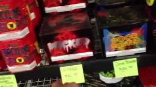 Firework Shopping 2013 Part 2