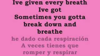 keli hilson promise in the dark lyrics letra ingles/español