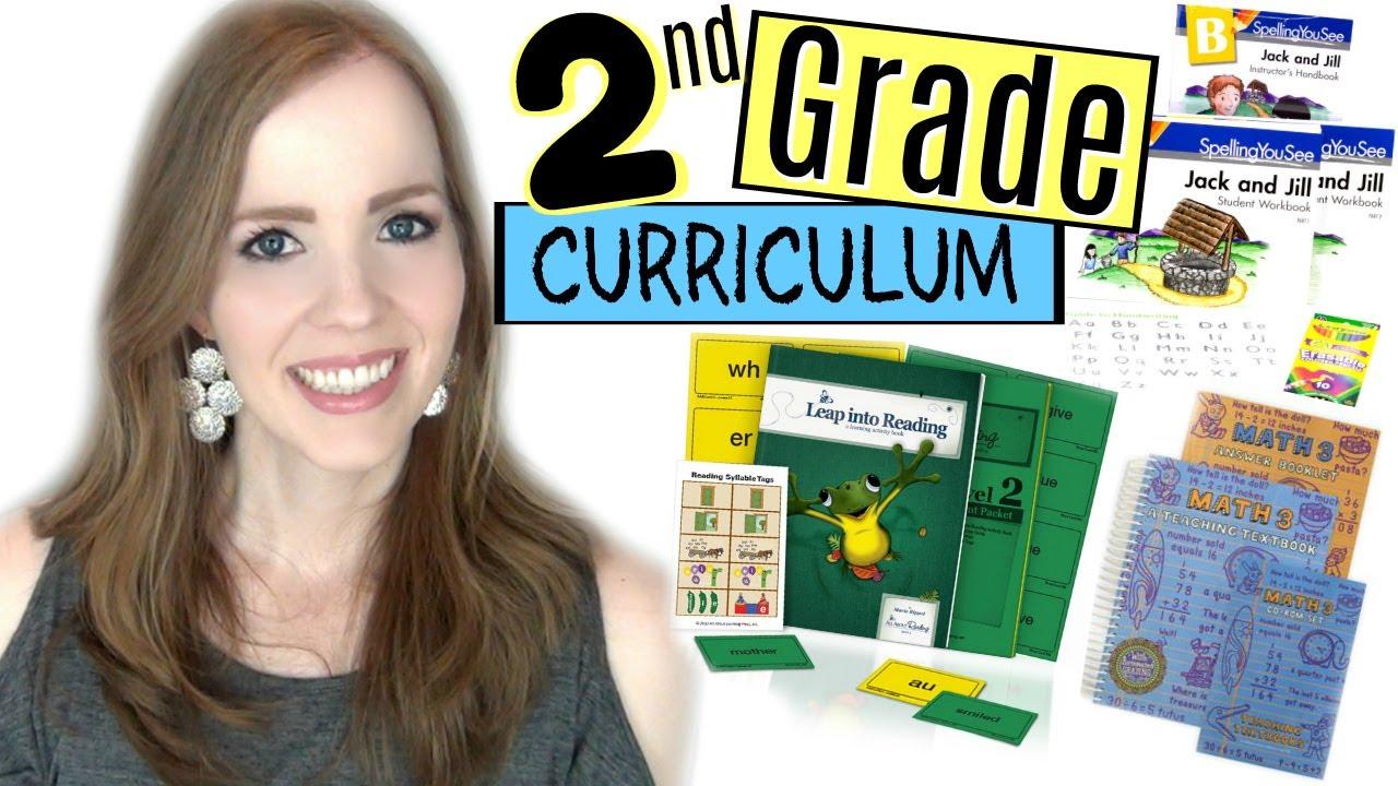 2nd Grade Homeschool Curriculum Choices 2017 2018 All About