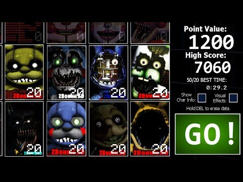 8 Bonnies In UCN! +All Jumpscares (UCN Mods) #2