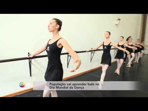 População vai aprender balé no Dia Mundial da Dança