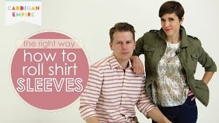 The Right Way to Roll or Cuff Shirt Sleeves Thumbnail