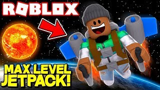 REACHING MAX HEIGHT *DIAMOND PLANET* (Roblox Jetpack Simulator)