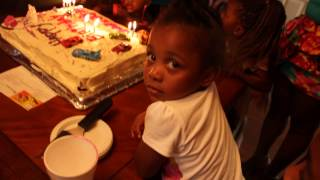 HAPPY BIRTHDAY SONG Thomas and Friends Twins 2nd Birthday (J-funk and Will)
