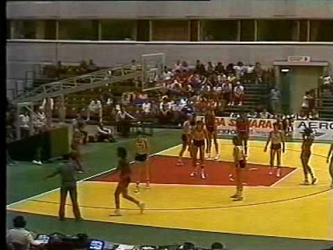 USA vs. Hungary: 1986 Women's World Championship