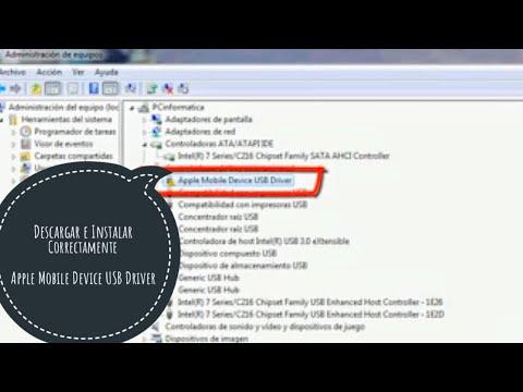 Apple Mobile Device USB Driver, Solución Controlador No Detectado, Descargar/Instalar 32 Bit 64 Bit