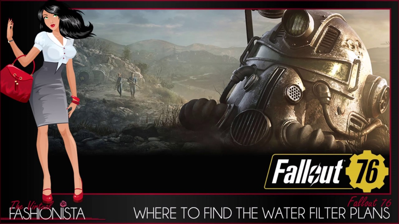 Fallout 76 Where To Find The Water Filter Plans Maybe Youtube
