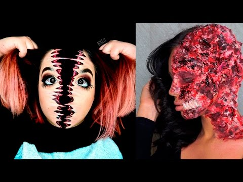 Top 25 DIY Halloween Makeup Tutorials Compilation 2017