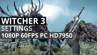 THE WITCHER 3 WILD HUNT HD 7770 HIGH VS MEDIUM VS LOW FX 6100