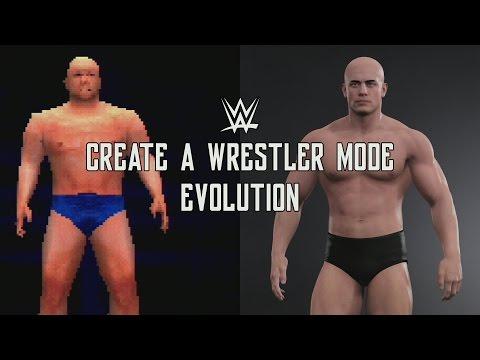 WWE Games Evolution: CAW Mode Evolution
