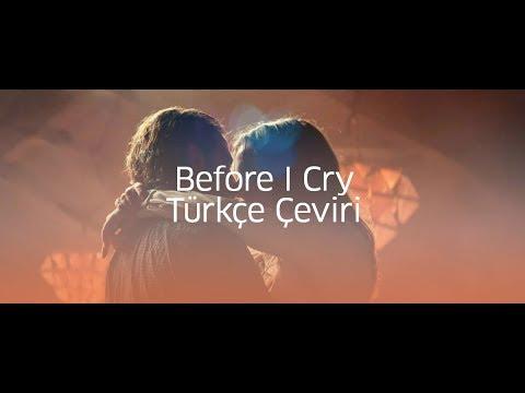 Lady Gaga Before I Cry | Türkçe Çeviri