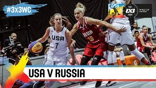 USA v Russia | Women's Full Game | FIBA 3x3 World Cup 2018