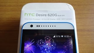 HTC Desire 620G Unboxing