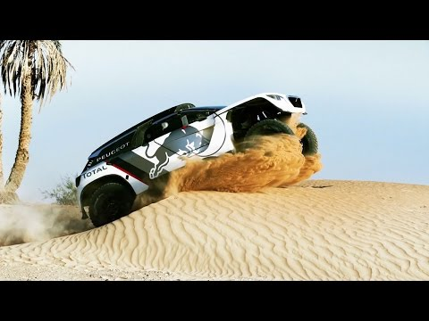 First Look at the PEUGEOT 3008 DKR In Action | Dakar Rally 2017