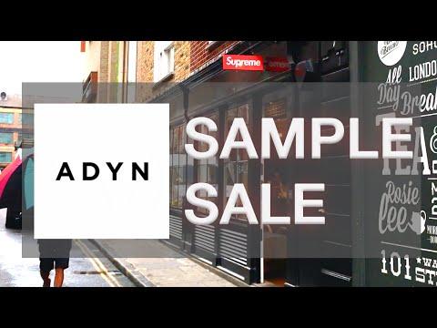 80% OFF ADYN SAMPLE SALE??/SUPREME & PALACE/SOHO - Fashion & Lifestyle Vlog