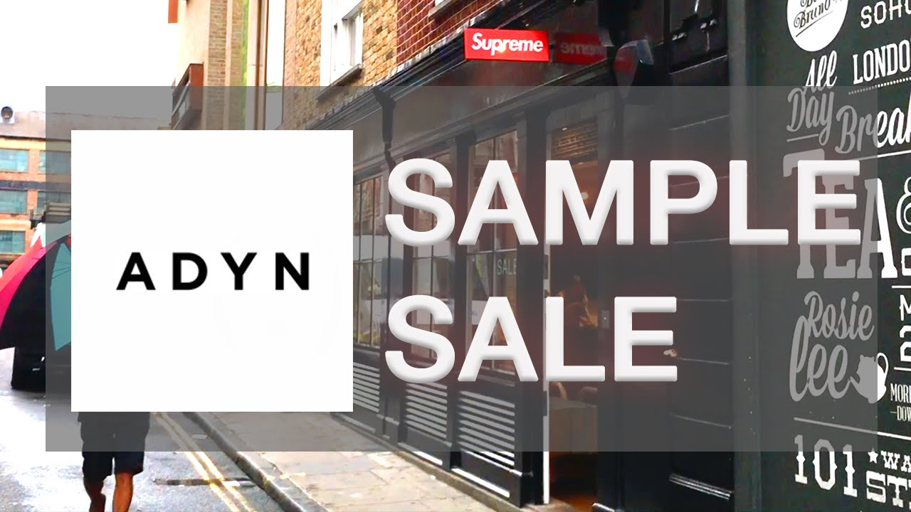 80% OFF ADYN SAMPLE SALE??/SUPREME & PALACE/SOHO - Fashion ...