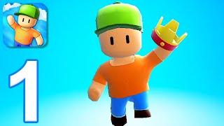 Stumble Guys - Gameplay Walkthrough Part 1 - First Win (iOS, Android) screenshot 3