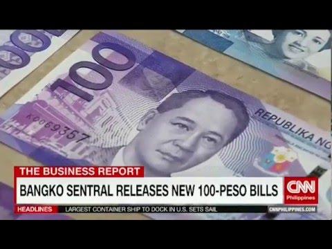 Bangko Sentral releases new 100-Peso bills