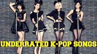 UNDERRATED K-POP SONGS (PART 3)