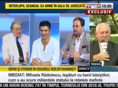 RomaniaTV,  27 August 2015, inregistrarea emisiunii NewsLine
