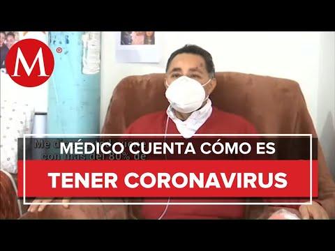 Médico del IMSS estuvo a punto de morir por covid-19, esta es su experiencia