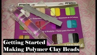 Starting To Make Beads With Polymer Clay Tutorial