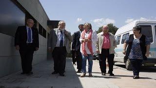 Salvador Esteve visita el Centre Ocupacional APINDEP Ronçana
