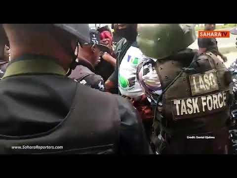 Yoruba Nation Agitator Brutalized By Nigerian Police