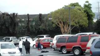 brawl at oakland coliseum dmv parking lot