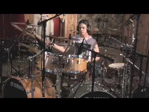 Job for a Cowboy-Unfurling A Darkened Gospel (studio drum footage of Jon Rice)