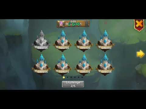 Castle Clash IGG - Guild Wars 28.11.19 All 5 Runs