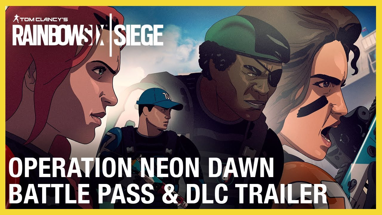 Rainbow Six Siege: Operation Neon Dawn Battle Pass & DLC Trailer | Ubisoft
